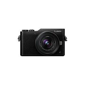 Panasonic Lumix - Fotocamera ibrida compatta DC-GX800KEFK + Lumix 12-32 F3.5-5.6 (sensore 4/3 16 MP, schermo inclinato, tact, AF DFD, video 4K, modalit Selfie, Wifi), colore: nero