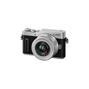 Panasonic Lumix GX880K - Fotocamera ibrida compatta + obiettivo Lumix 12-32 mm (sensore 4/3 16 MP, schermo inclinato, AF DFD, video 4K, modalit Selfie, WiFi) Silver - Versione francese