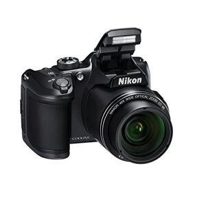 "Nikon Coolpix B500 Fotocamera Digitale Compatta, 16 Megapixel, Zoom 40X, ISO 125 - 6.400, VR, LCD Inclinabile 3"", Full HD, Bluetooth, Wi-Fi, Nero [Nital Card: 4 Anni di Garanzia]"