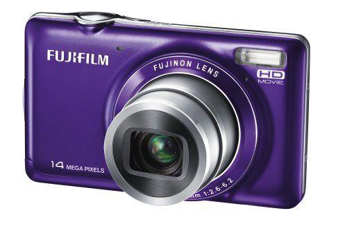 Fujifilm FinePix JX370fotocamera digitale (14Mega Pixel, Zoom Ottico 5X. Zoom, 6,9cm (2,7pollici), Stabilizzatore d' Immagine) Viola