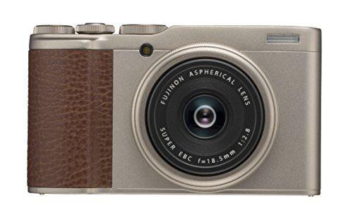Fujifilm XF10 Fotocamera Digitale Compatta, 24 MP e Obiettivo Fujinon 18.5 mm F2.8, Sensore CMOS APS-C, Teleconverter Digitale, Oro
