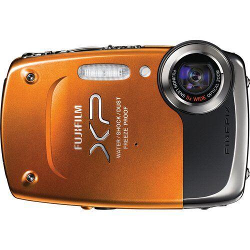 Fujifilm fotocamere digitali  (modello: finepix xp20; generale:arancione; sensore:ccd, 1/2.3, megapixel reali : 14,20 , megapixel effettivi : 14,20 )