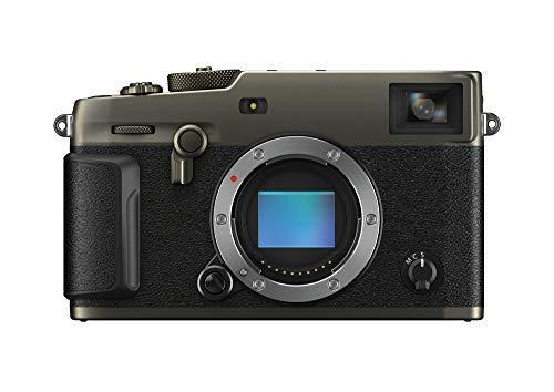 """Fujifilm X-Pro3 Drblack Fotocamera Digitale Mirrorless 26 MP, Sensore X-Trans CMOS 4, Filmati 4K 30p, Mirino Ibrido, Schermo LCD 3"""" Touch Ribaltabile, Duratec Nero"""