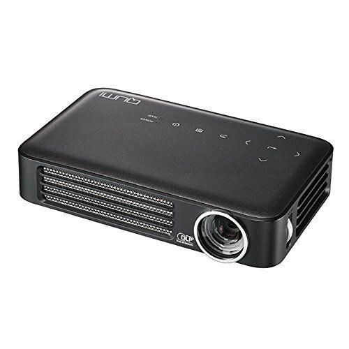 VIVITEK Qumi Q6 Proiettore portatile 800ANSI lumen DLP WXGA (1280x800) Compatibilità 3D Nero, Carbonella, Grigio, Argento videoproiettore