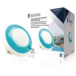 Knig HAV-BTFSP100BU Mono 3W Blu, Bianco altoparlante portatile
