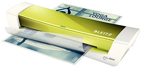Leitz iLAM Home Office A4 Plastificatrice a caldo 310mm/min Verde, Metallico, Bianco