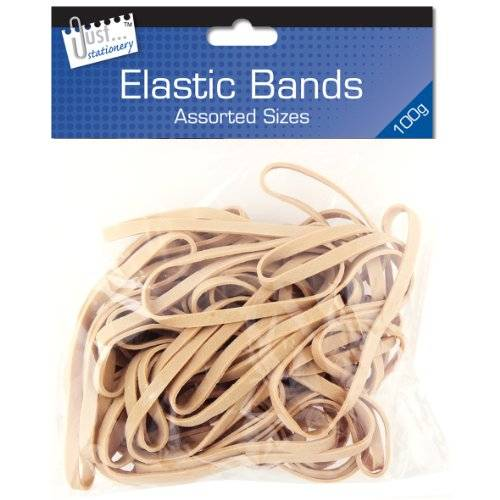 just stationery-fascia elastica, dimensioni assortite