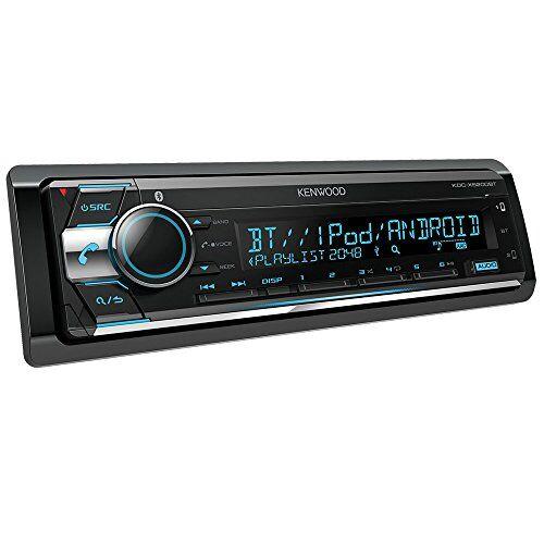 Kenwood KDC-X5200BT Autoradio, Nero