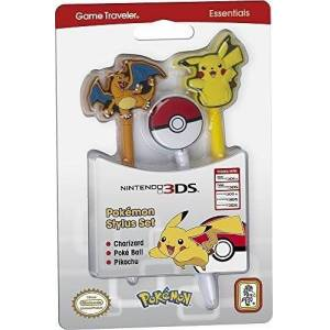 BigBen Interactive BB Stylus Pokemon 3 pezzi NEW 3DS XL - Licensing