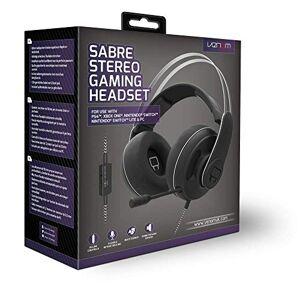 Venom Sabre Universal Stereo Gaming Headset (PS4 / Xbox One / Switch / PC / Mac) - PlayStation 4 [Edizione: Regno Unito]