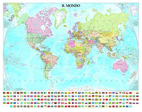 Geo4map 9788869851230 Planisfero Politico con
