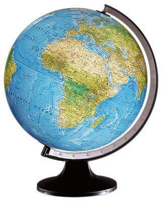 Scangloble 84009-Sfera di 25 cm (cartografia