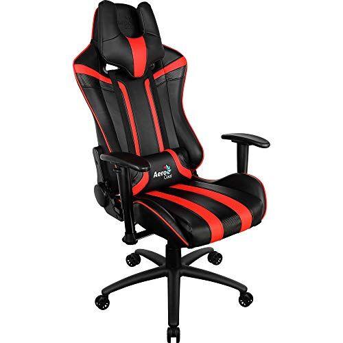 Aerocool Not Machine Specific - Aerocool AC120BR Sedia Gaming Professionale Colorazione Black Red - Game of The Year
