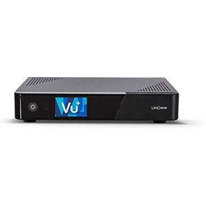 Vu+ VU +, decoder Linux con due tuner Uno 4K SE (UHD, 2160p) nero