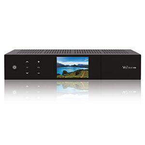 VU+ Duo 4K 1x DVB-S2X FBC Twin Tuner PVR Ready Linux Ricevitore (UHD 2160p) Nero