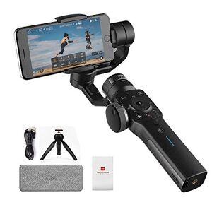 zhi yun Zhiyun Smooth-4 per iPhone X 8 7 Plus 6 Plus Capacit di messa a fuoco e zoom, Tracciamento oggetti, Ricarica a due vie, (Nero)
