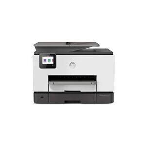HP OfficeJet Pro 9020, Stampante Multifunzione a Getto di Inchiostro, Stampa, Scannerizza, Fotocopia, Fax, Wi-Fi, Wi-Fi Direct, Smart Tasks, 6 Mesi di Servizio Instant Ink Inclusi, Bianco e Grigio