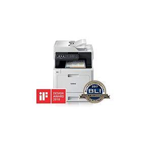 Brother MFC-L8690CDW Stampante Multifunzione Laser a Colori, con Fax, Velocit di Stampa 31 ppm, Stampa, Copia, Scansione e Fax Fronte/Retro Automatico, Rete Cablata, Wi-Fi e Wi-Fi Direct