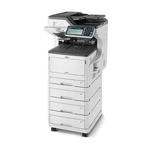 Oki MC873dnv Stampante Multifunzione 4 in 1, a colori, A3, fronte/retro, 35 pagine al minuto, con mobiletto, 2/3/4 cassetto e software gestione documentale