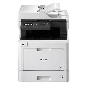 Brother Dcp-L8410Cdw Professionale 3In 1Multifunzione Laser A Colori Stampante, Scanner, Fotocopiatrice Bianco/Nero