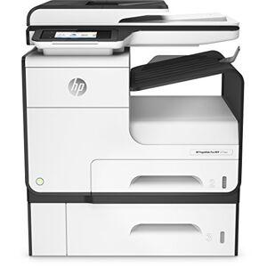HP PageWide Pro 477dwt W2Z53B - Stampante multifunzione e vassoio, Bianco/Nero