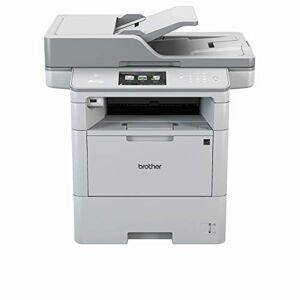Brother Stampante Monocromatica MFC-L6800DW, A4, 4 in 1, Scanner, Fotocopiatrice, Fax, 1200 x 1200 dpi, AirBag per 750.000 Pagine [Provenienza Germania]