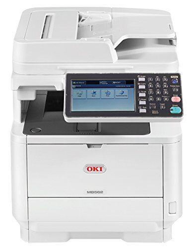 Oki Stampante Multifunzione OKI MB562dnw a Tecnologia LED, 4 in 1, Monocromatica, A4, Fronte/ Retro, Wireless, 45 Pagine al Minuto, Spina EU