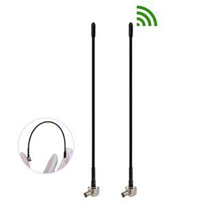Bingfu Antenna Aerea TS9 Esterna a Frusta Morbida 4G LTE 3dBi (Confezione da 2) Compatibile con Netgear Huawei MiFi Mobile Hotspot Router Modem USB Jetpack AirCard AC791L 6620L AC815S AC770S