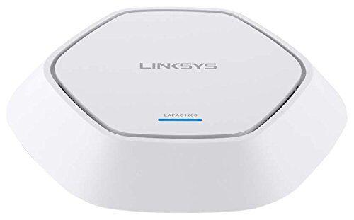 Linksys Lapac1200-Eu Access Point Dual Band Ac1200 2 x 2 per Aziende, Dual Band (2.4 Ghz + 5 Ghz), Poe, Wi-Fi 802.11Ac, Supporto Ipv6, Sicurezza Avanzata Wep/Wpa/Wp2, 802.1X con Radius