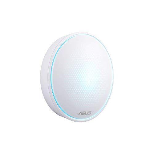 "Asus Lyra mini (MAP-AC1300) Sistema ""LYRA"" Wireless Mesh Dual Band AC1300, Kit 1 dispositivi, Copertura fino a 140mq, AiProtection, Lyra App, supporto a IFTTT & Amazon Alexa"