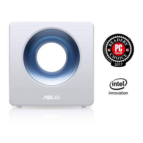Asus BLUE CAVE Gigabit Router Wireless AC2600 Dual Band 1734+800 802.11a/b/g/n/ac, Dual Core CPU / supporto a IFTTT & Amazon Alexa / AiProtection / Family Monitoring / UB 3.0 X 1