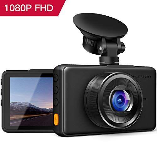 APEMAN in Auto Dash Cam 1080p FHD DVR Auto registratore di Guida 7,6cm Schermo LCD 170° grandangolare, G-Sensor, WDR, parcheggio Monitor, Registrazione del Ciclo, rilevatore di Movimento