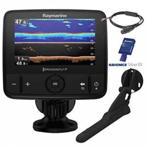 Raymarine E70320-EU libellula-7 Pro Sonar/GPS con visione verso il basso (17,8 cm, UE-mappa, CPT-DVS)