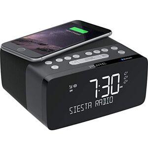 Pure - Siesta Charge (Radiosveglia DAB+/FM con funzione di ricarica wireless), Graphite