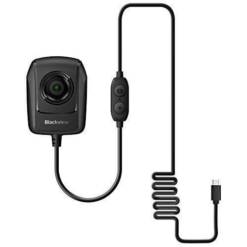 """Blackview BV9700 Pro Telecamera per Visione Notturna 1.3MP Tramite Connessione di Type-C, IMX225 (1/3"""") COMS, 720P 30FPS, Foto/Video (Nero)"""