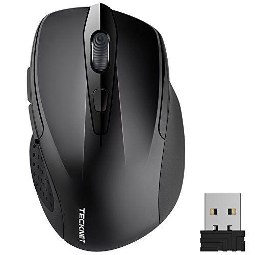 TECKNET PRO Mouse Senza Fili, 2600DPI, 2.4G