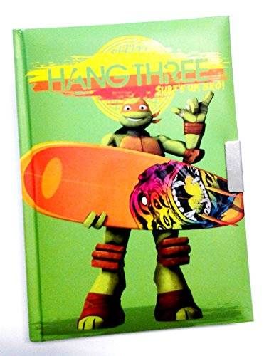 nickelodeon diario personale con chiave turtles