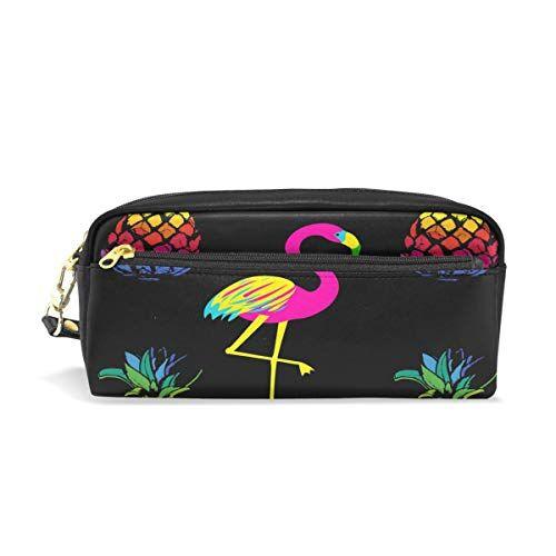 Funnyy PU zipper Pencil bag, cute Animal Unicorn bici penna di matita trucco sacchetto per Kid per bambini scuola donne