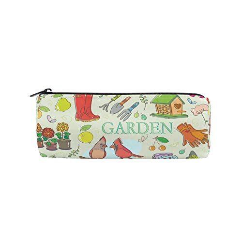 DEZIRO - Set da giardinaggio per studenti, borsa con cerniera