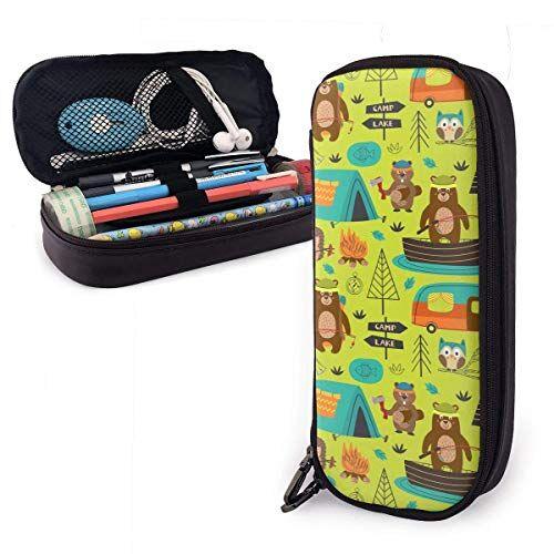 vince camu tenda da campeggio bear hedgehog,borsa organizzatore,astuccio matite,custodia a matita,borsa matita,astuccio portamatite,matite custodia