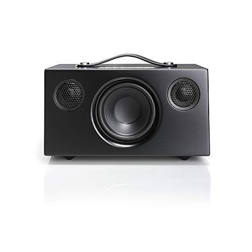 audio pro addon t4 - altoparlante stereo compatto con bluetooth, colore: nero
