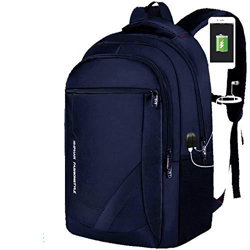HXG Zaino per Laptop Zaino da Viaggio Idrorepellente da 16 Pollici Moda Casual Merchant Zaino da Uomo e Donna Leggero in Pelle ad Alta capacit con Porta USB di Ricarica