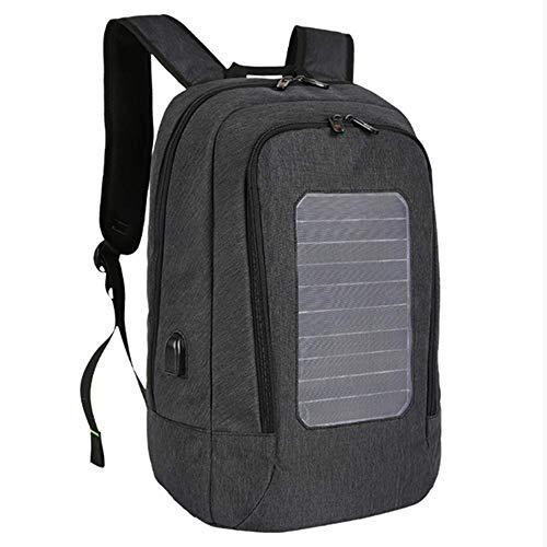 ksiasgdha zaino per pc portatile bagaglio a mano zaino unisex adultozaino per pannelli solari man usb ricarica zaini antifurto per laptop da 15,6 pollici per borse da viaggio impermeabili