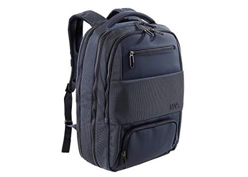 nava zaino bagaglio a mano con porta computer fino a 17 pollici colore blue