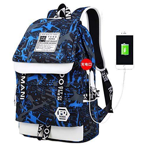 HXG Zaino per Laptop Zaino da Viaggio Impermeabile da 14 Pollici Casco Leggero da Uomo e da Donna di Moda Casual per Commercianti Zaino in Pelle di Grande capacit con Porta di Ricarica USB