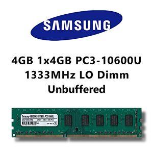 Samsung 4GB (1X 4GB) DDR31333MHz (PC310600u) lo DIMM COMPUTER PC Desktop scheda RAM Memory