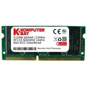 Komputerbay 512MB SDRAM SODIMM (144 Pin) 133Mhz PC133 RAM per Stampanti Brother