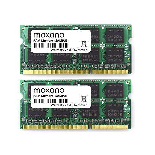 Maxano® 16GB Dual Channel kit (2X 8GB) per Lenovo IdeaPad Z510DDR31600MHz (pc3l-12800s) So DIMM RAM Memory