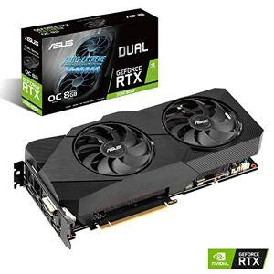 Asus Dual NVIDIA GeForce RTX 2060 SUPER EVO V2 OC Edition, Scheda Video Gaming, 8 GB GDDR6 HDMI, DisplayPort, DVI-D, Ventole AxialTech, Tecnologia 0 dB, DirectCU II, Tecnologia Auto-Extreme