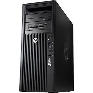 HP Z420 Workstation Intel Xeon Quad Core E5 256 GB SSD + 500 GB HDD 32 GB memoria Win 10 Pro MAR scheda grafica Nvidia Quadro 2000 PC (certificato e rigenerato)